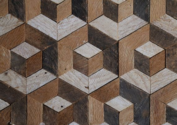 Reclaimed Wood Wall Art  Wood Decor   by EleventyOneStudio on Etsy