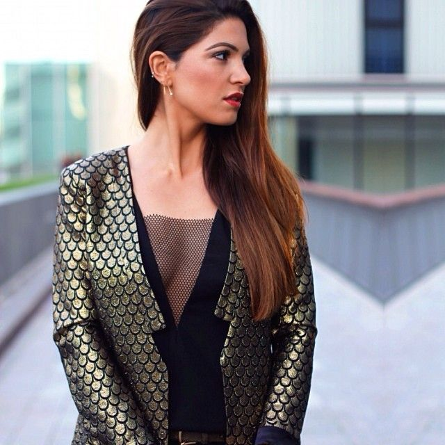 A festive outfit post on www.neginmirsalehi.com (link in bio)  - @negin_mirsalehi- #webstagram