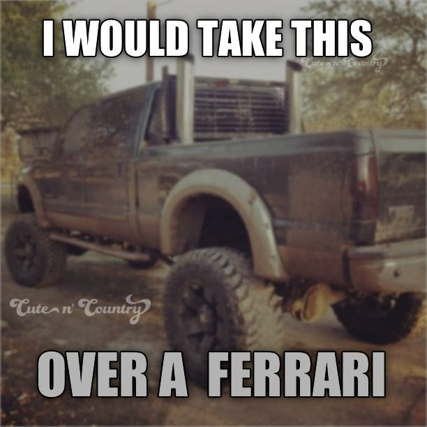 anyday! #truck #Mudding #countrylife Make sure to follow Cute n' Country at http://www.pinterest.com/cutencountrycom/