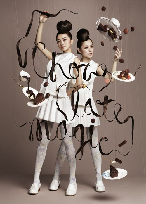 advertising | Harbour City Chocolate Trail by NAM | Charlene Choi — Twins