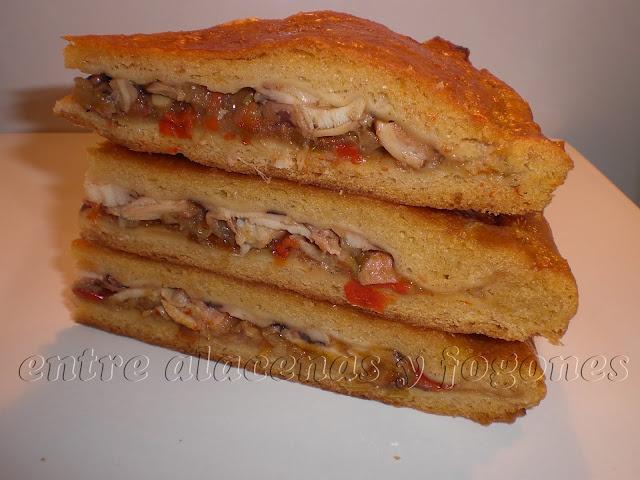 Empanada de pulpo al estilo gallego