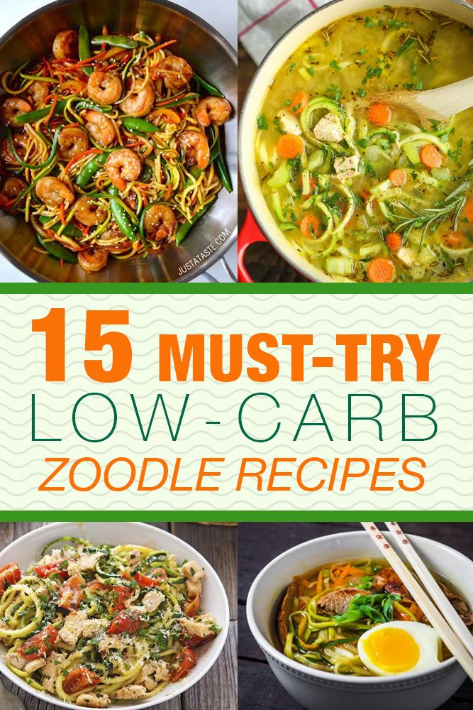15 Must-Try Low-Carb Zoodle Recipes | Living Chirpy