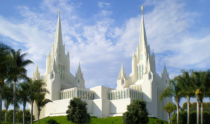 San Diego Mormon Temple - Sacred & Religious Sites - Learn the lovely beliefs of mormons with their beautifully designed temple in California at San Diego Mormon Temple