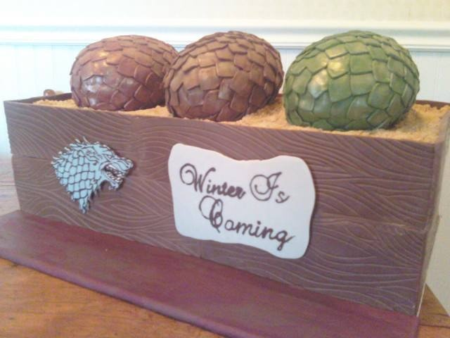 Game of Thrones Cake - Dragon Eggs | My Cakes | Pinterest ...