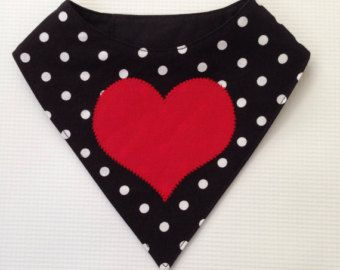 Valentines Day Red and White Mini Houndstooth by FurryTaleCouture