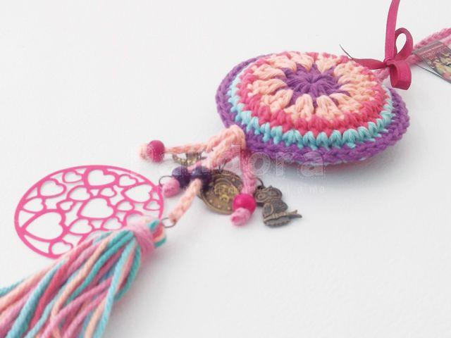 Colgante Mandala para puertas y picaportes (con sonidito) — Pandora Objetos con Aura