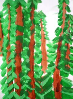 After viewing the paintings of Emily Carr, the third grade students were inspired to create forest paintings!  Emily Carr is a Canadian arti...