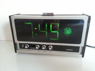 Lumitime, Tamura Electric, JAZ, clock, despertador vintage Lumijaz.