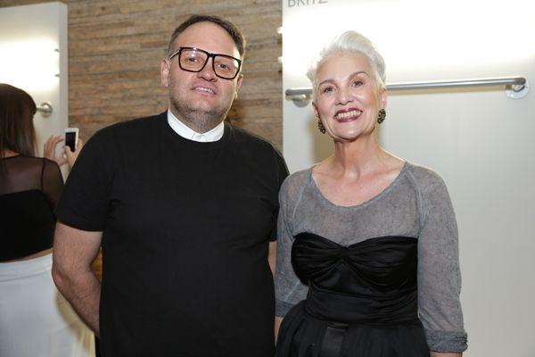 Chris Viljoen and Jackie Burger #RisingStar2013 with @Mr Price