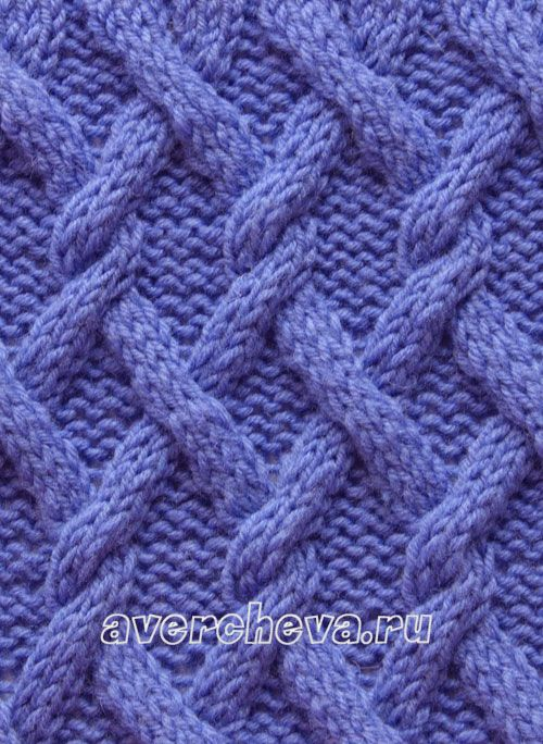узор 507 - knitting stitch  #cables
