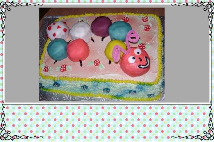 Very cute and fun birthday cake