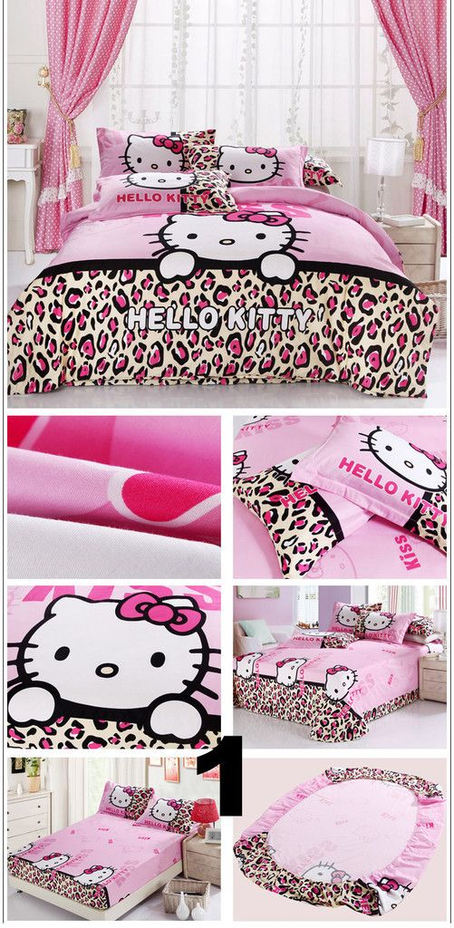 hello kitty bedroom ideas. #hellokitty