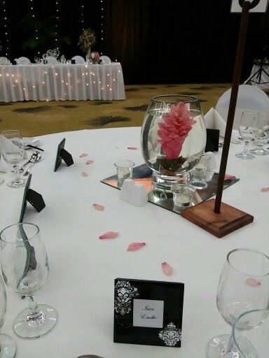 Centrepiece with ginger