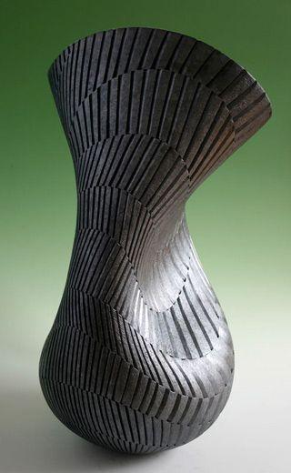 artofmassdestruction:  coilpotter:  Hand built forms by Ashraf...
