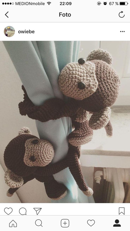 22 besten Handmade crochet Bilder auf Pinterest | Häkeln, Affen und ...