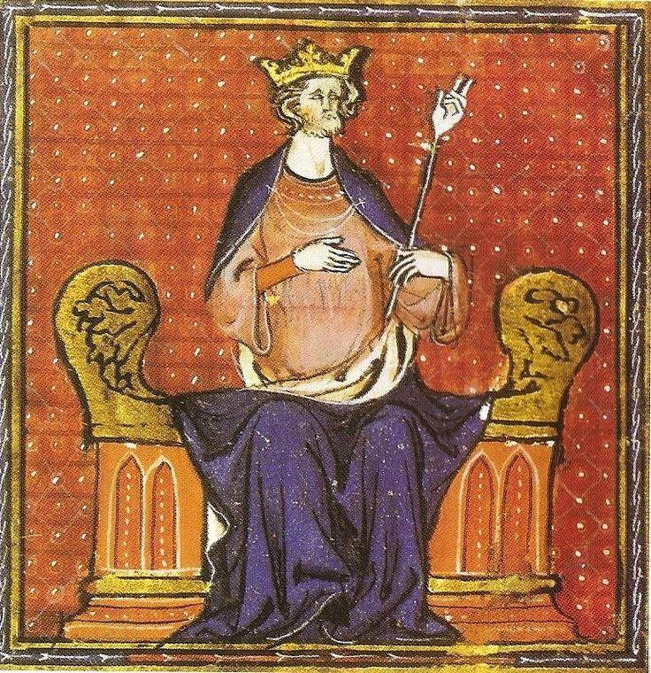 Hugues Ier Capet - Fils de Hugues le Grand et de son épouse Hedwige de Saxe, il est l'héritier des puissants Robertiens, la lignée qui est en compétition pour le pouvoir avec la dynastie carolingienne et les grandes familles aristocratiques de Francie aux IXe et Xe siècles, mais par sa grand-mère paternelle Béatrice de Vermandois il descend également d'un carolingien, Bernard roi d'Italie, petit-fils de Charlemagne.