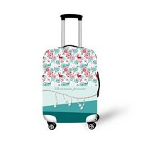 2016ONE2 best sale Christmas elastic luggage cover 22,24,26 inch most popular fashion diy Travel luggage cover for boys girls