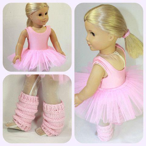 Knitting Pattern Ballerina Doll : Ballet Class 18
