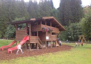 il Parco Giochi di Soraga in Val di Fassa