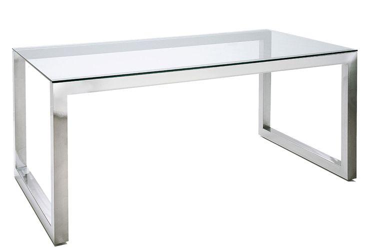 Base de mesa de acero inox   Material: Acero Inox.   Material: Base mesa realizada en acero inox cromado. No incluye cristal Cristal,Fondo,Mesa,Base,hierro,Diseno... Eur:443 / $589.19