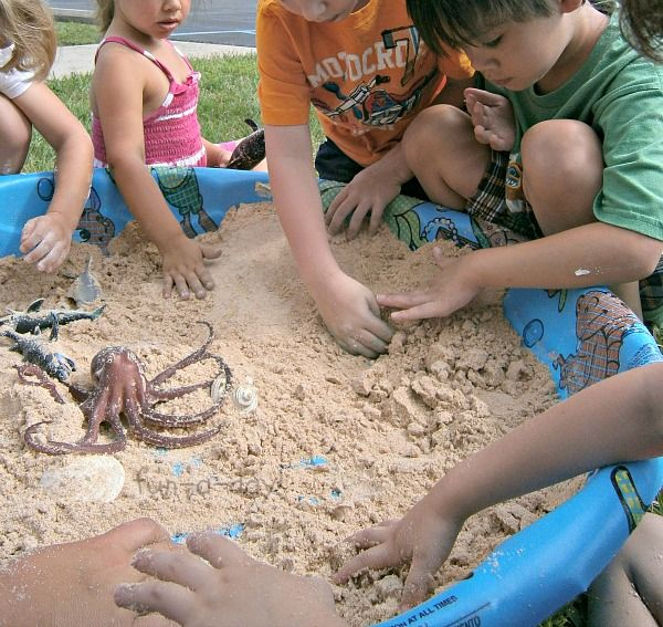 Toddler-Safe Play Sand & Beach Small World