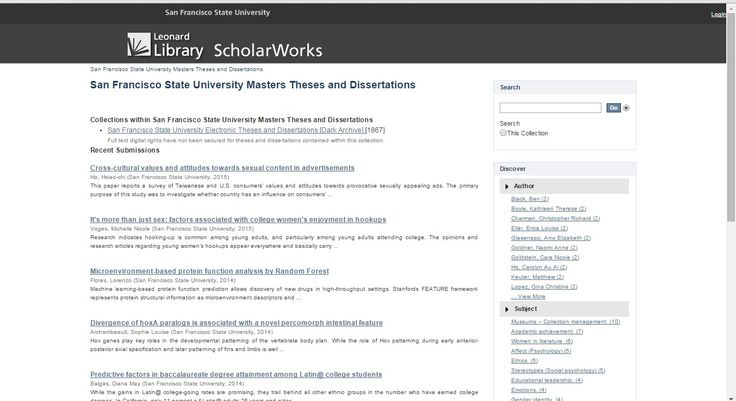 sdsu dissertation and thesis manual dtm