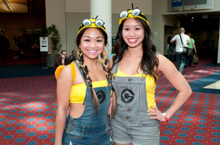 Make a Minion costume for Halloween! Or use suspenders instead of overalls.