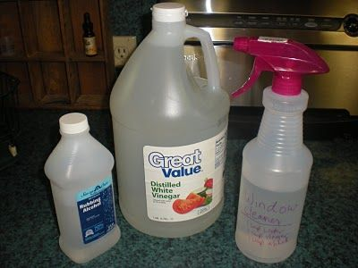 how to make homemade window cleaner with vinegar rubbing alcohol bottle and homemade. Black Bedroom Furniture Sets. Home Design Ideas