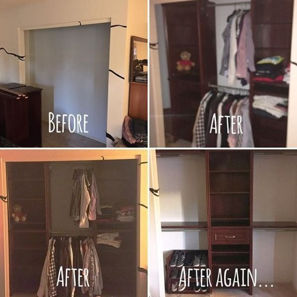 Organization Is A Journey And Sometimes Your After Always Changing We Love Closet Makeover All Of Projects