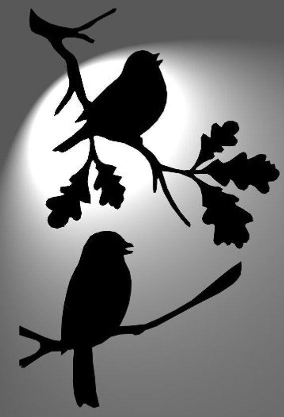 ногтями птички на ветке картинки для вырезания знаком этот эпичный