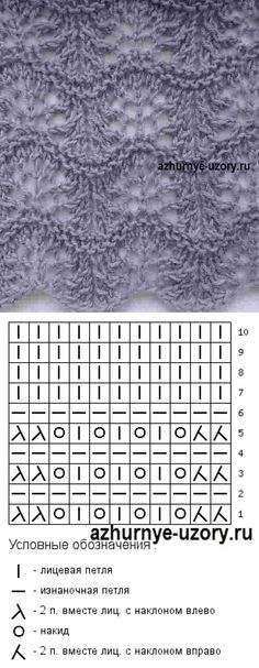 Lace knitting pattern Nr 143