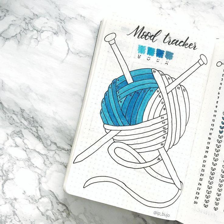 20 Genius Mood Tracker Ideen für Ihr Bullet Journal – #Bullet #für #Genius #id