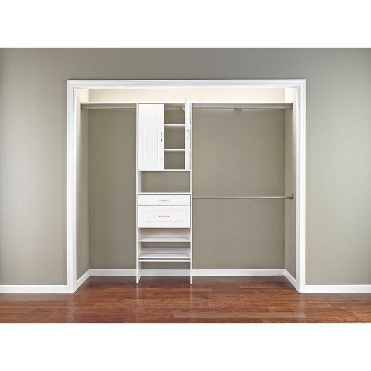 closetmaid 5' to 10' closet organizer 1