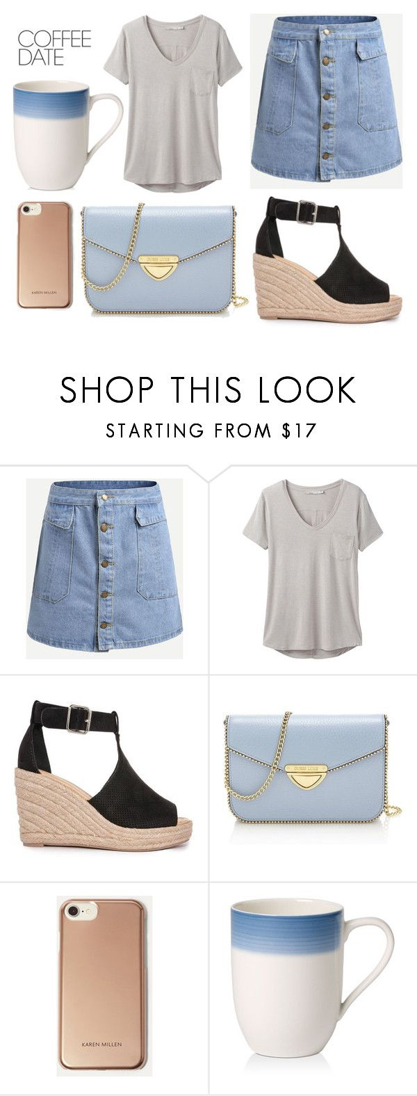 """""""a couple summers later i acquired taste for salmon on a baggel"""" by emilyistheone ❤ liked on Polyvore featuring prAna, Saint Tropez, Karen Millen, Villeroy & Boch and CoffeeDate"""