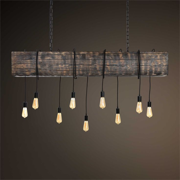Light Store Reading Ma: Uttermost - Reading Station, 9 Lt. Pendant