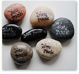 you-rocks. Great for a moral boost at work