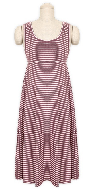 Casual dress with line