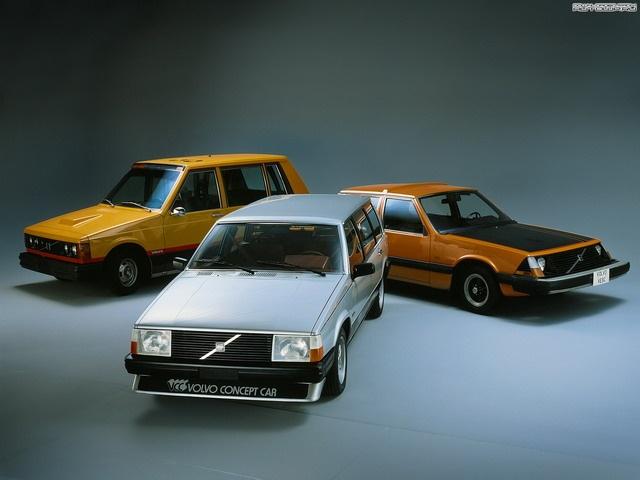 Volvo Vcc Concept 1980 Concept Cars Pinterest