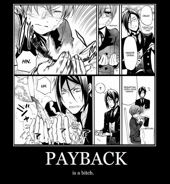 i don't know why i laughed so hard at this XD Black Butler