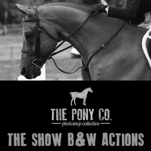 The Show Black and White Action Set- 5 Action Pack