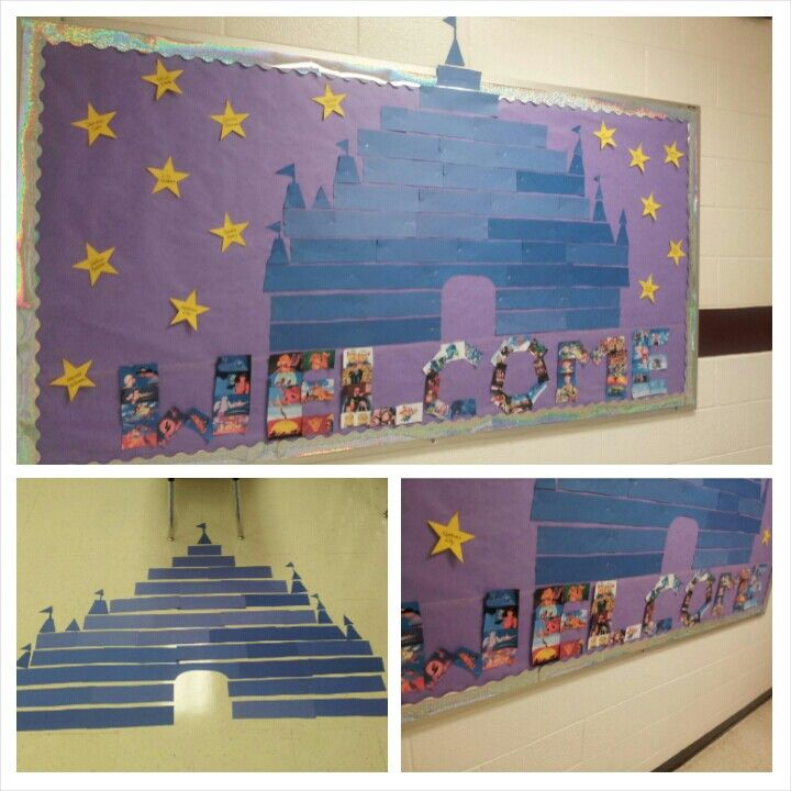 Classroom Decorations Disney : My disney bulletin board