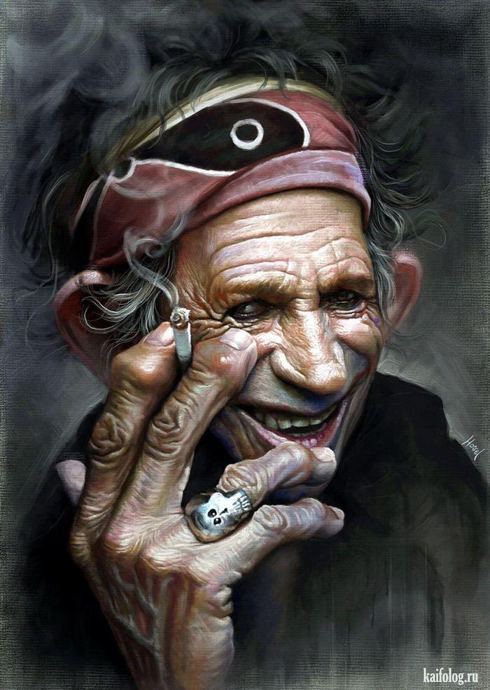 Смешные арт картинки людей