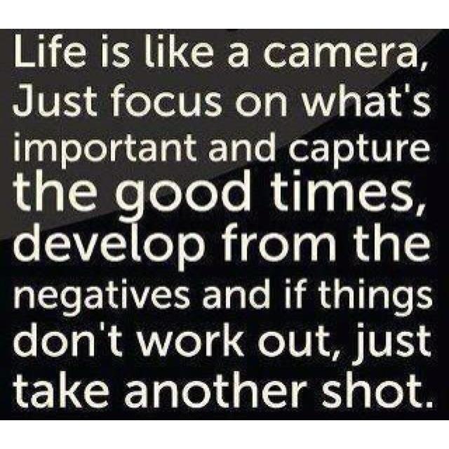 Just Focus :)
