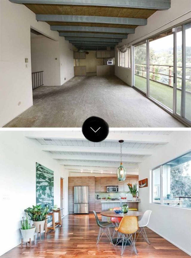 87 best split level images on pinterest arquitetura for Mid century post and beam house plans