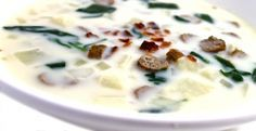 Olive Garden Zuppa Toscana Made Skinny – Weight Watchers Recipes
