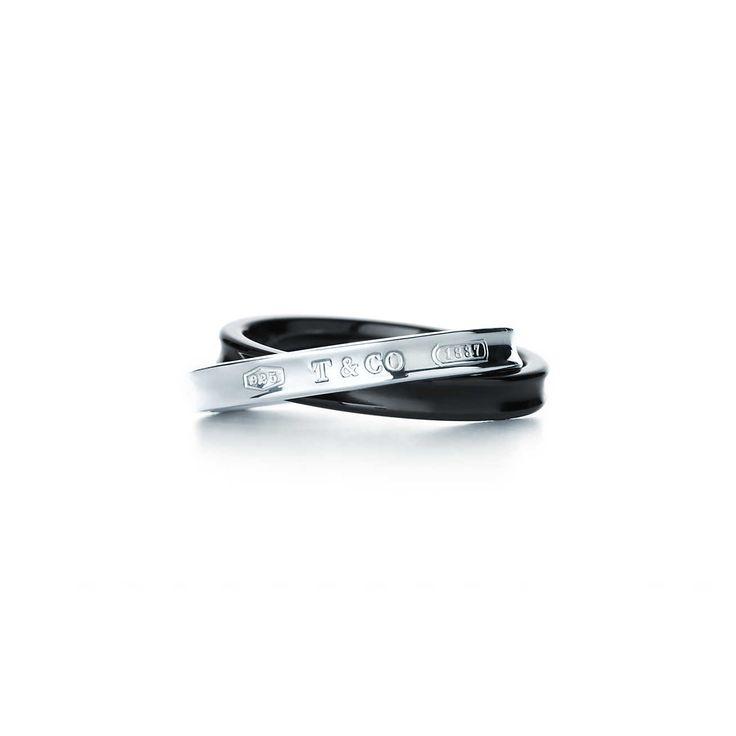 Tiffany 1837™: anillo de círculos entrelazados