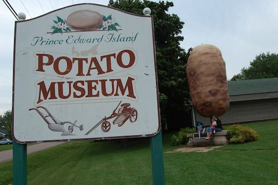 "Visit this self-guided museum and learn about the history and culture of the potato through various displays. There is a large collection of antique machinery and gift shop with potato theme. View the ""big sculptured potato"" at the entrance. Visit the community museum, Heritage chapel, log barn, one-room schoolhouse, and telephone office"