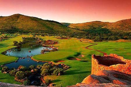 Feb 2001...Sun City South Africa | Golf Course @ Sun City.