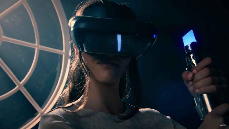 Lenovo – Disney – Star Wars Jedi Challenges – AR HEADSET