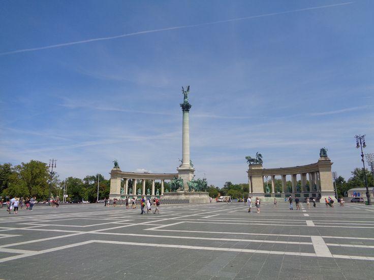 Hősök tere Budapest, Magyarország